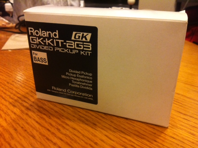 roalnd gk-kit-bg3 guitar synth